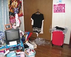 以前の洋室は手狭で収納も少なく、使い勝手も悪かった