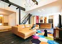 デザインリノベーションで 愛犬とともに快適に暮らす