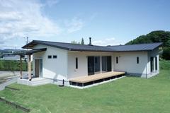 「住まいる」が建てる平屋の家