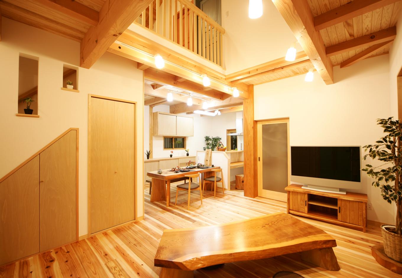まるごと自然素材で心も体も癒される家