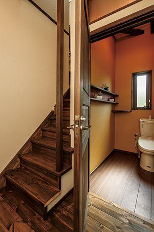 住まいるコーポレーション【和風、自然素材、夫婦で暮らす】車椅子仕様のトイレ