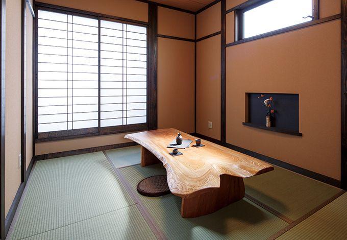 住まいるコーポレーション【和風、自然素材、夫婦で暮らす】2階には友人や孫達が泊まる時のために和室を用意