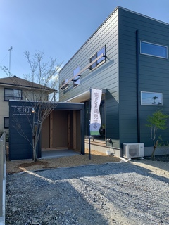 住たくeco工房 木箱HOUSE  ・総二階30坪3LDK 1300万の家 「Open house・掛川市上西郷」
