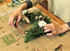 11/24,25 ★ クリスマスリースの手作り体験会を開催します