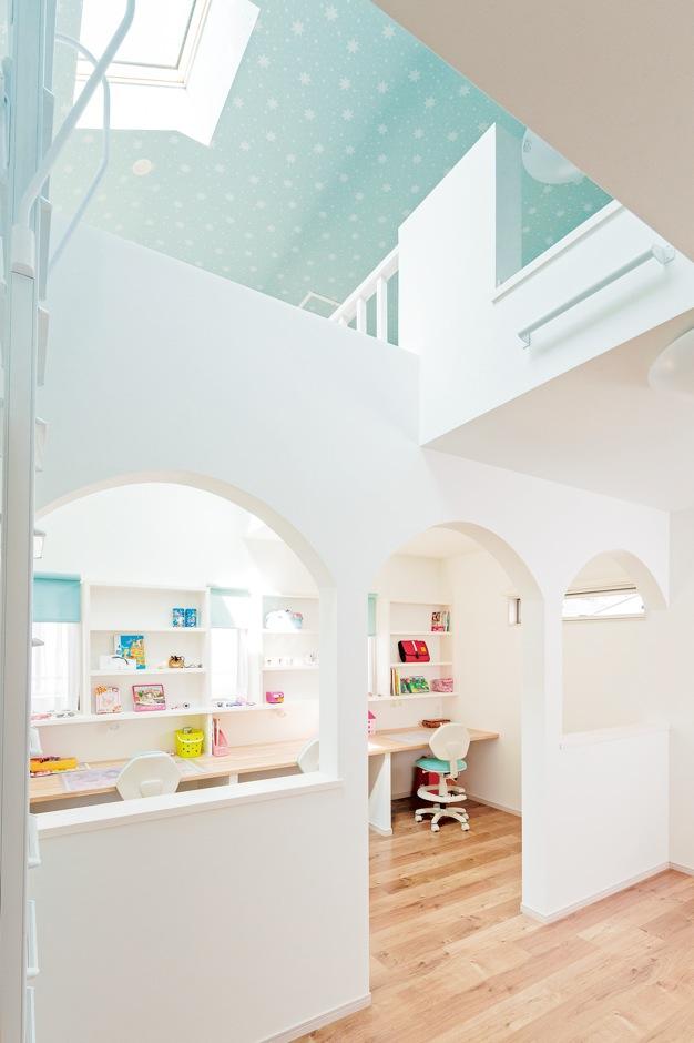 憧れのキッチンと子ども部屋 家の中がいちばん楽しい!