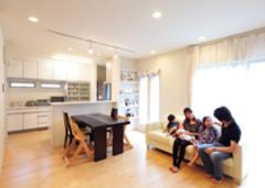 暮らしやすさ満点の家