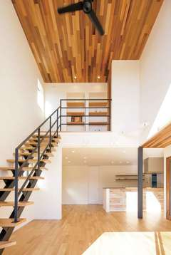 素材感を楽しみながら暮らすパッシブデザインの家