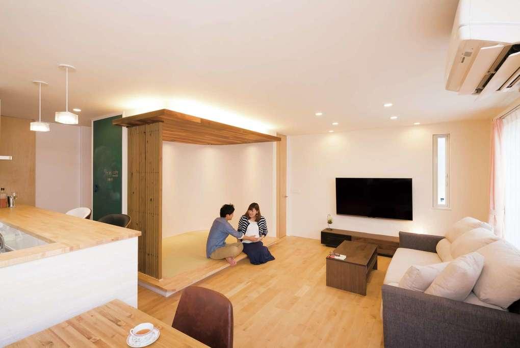 ママ目線の「家事楽・育児楽」アイデア満載の木の家