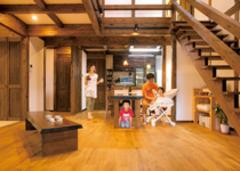 真壁と外張り断熱で年中快適 明治時代の建築美が息づく家