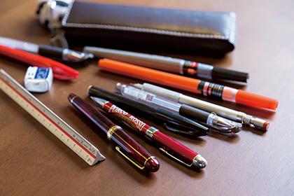 こだわりのペンたち