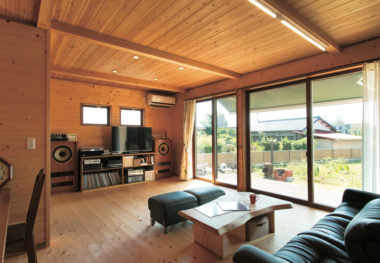 今も30年先も暮らしやすい オール天然木と自然素材の家