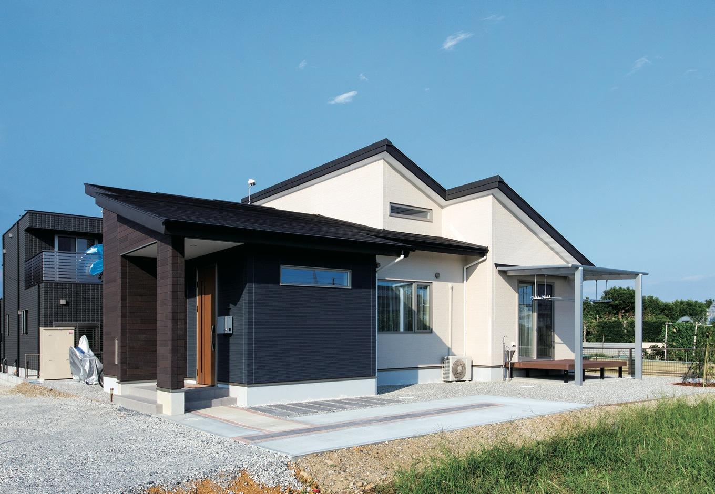 今と将来の暮らしを見据えた 住みやすくて低燃費な平屋の家