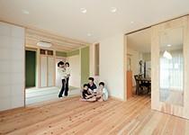 天竜材と自然素材で造った和モダンなパッシブ住宅