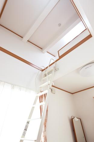 Mulberry House 桑原建設【1000万円台、デザイン住宅、省エネ】子ども部屋と寝室の2部屋にロフトを設置