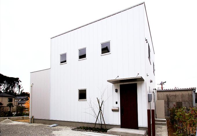 木場建築設計 KIBA-AD【1000万円台、デザイン住宅、収納力】シャープでスタイリッシュな外観