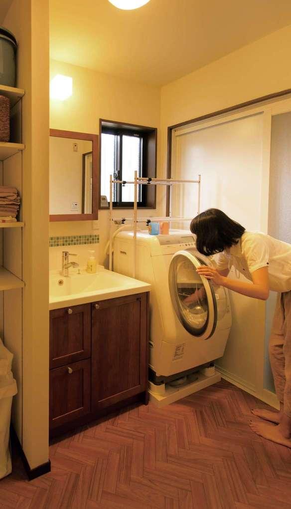 かなめ創建【子育て、収納力、間取り】無駄を省いた洗濯動線、効率の良い収納計画が子育てママの家事時間を短縮する