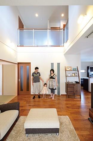 夫妻のイメージをベースに暮らしやすい空間を提案