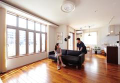 家族の思いがギュッと 詰まったデザイン住宅