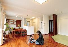 頑丈な構造と空気循環で何年経っても美しい家