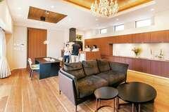 施主さんと設計者・施工者が力を合わせて造った夢の邸宅