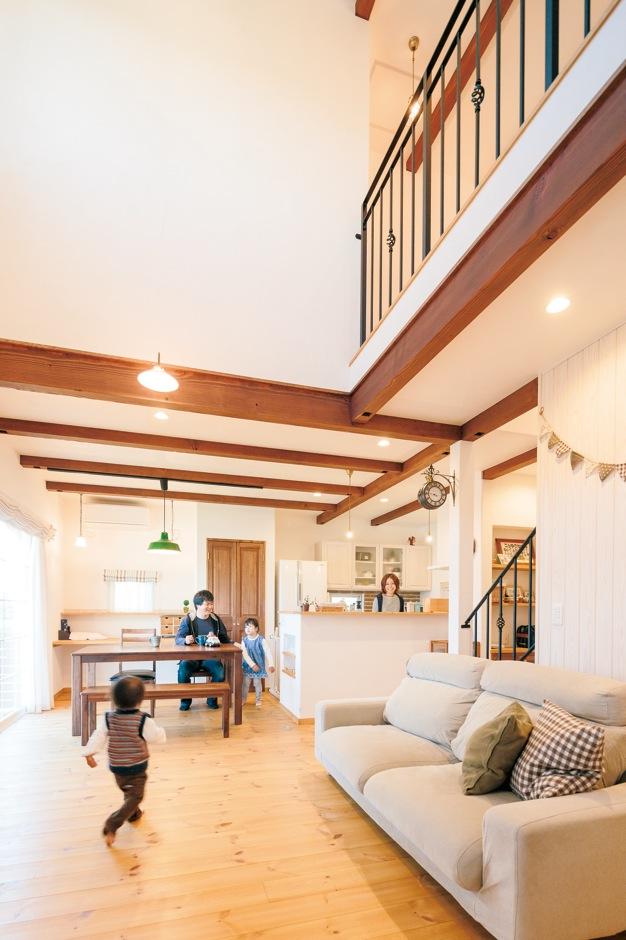 自然素材+クアトロ断熱で永く健やかに暮らせる家