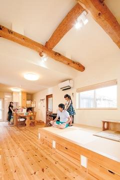自然素材のリノベーションで『アイジー』の家に住む夢実現!