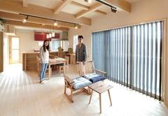 50棟を見学したご主人の結論 光と風、地域の自然素材が包む家