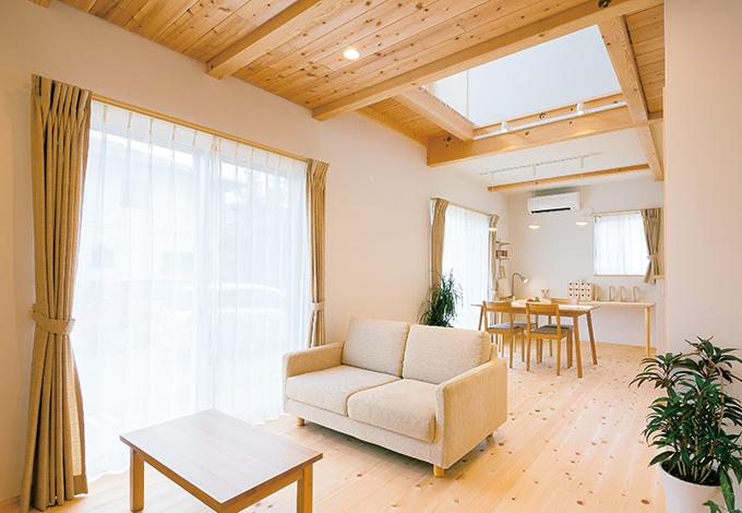 明るさ、便利さにヒミツあり! 延床24坪のコンパクトハウス