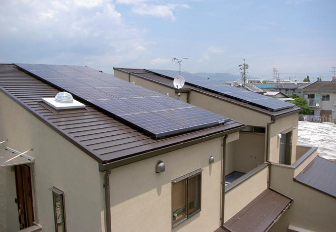 アキヤマ【デザイン住宅、子育て、自然素材】エコを重視し、太陽光発電も導入