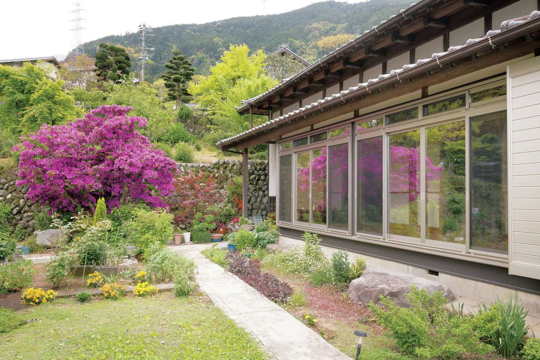 鳥坂建築|高性能の断熱材と複合ガラスのサッシで住み心地を向上