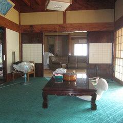土間から上がった和室。お客さまが出入りする部屋となっている