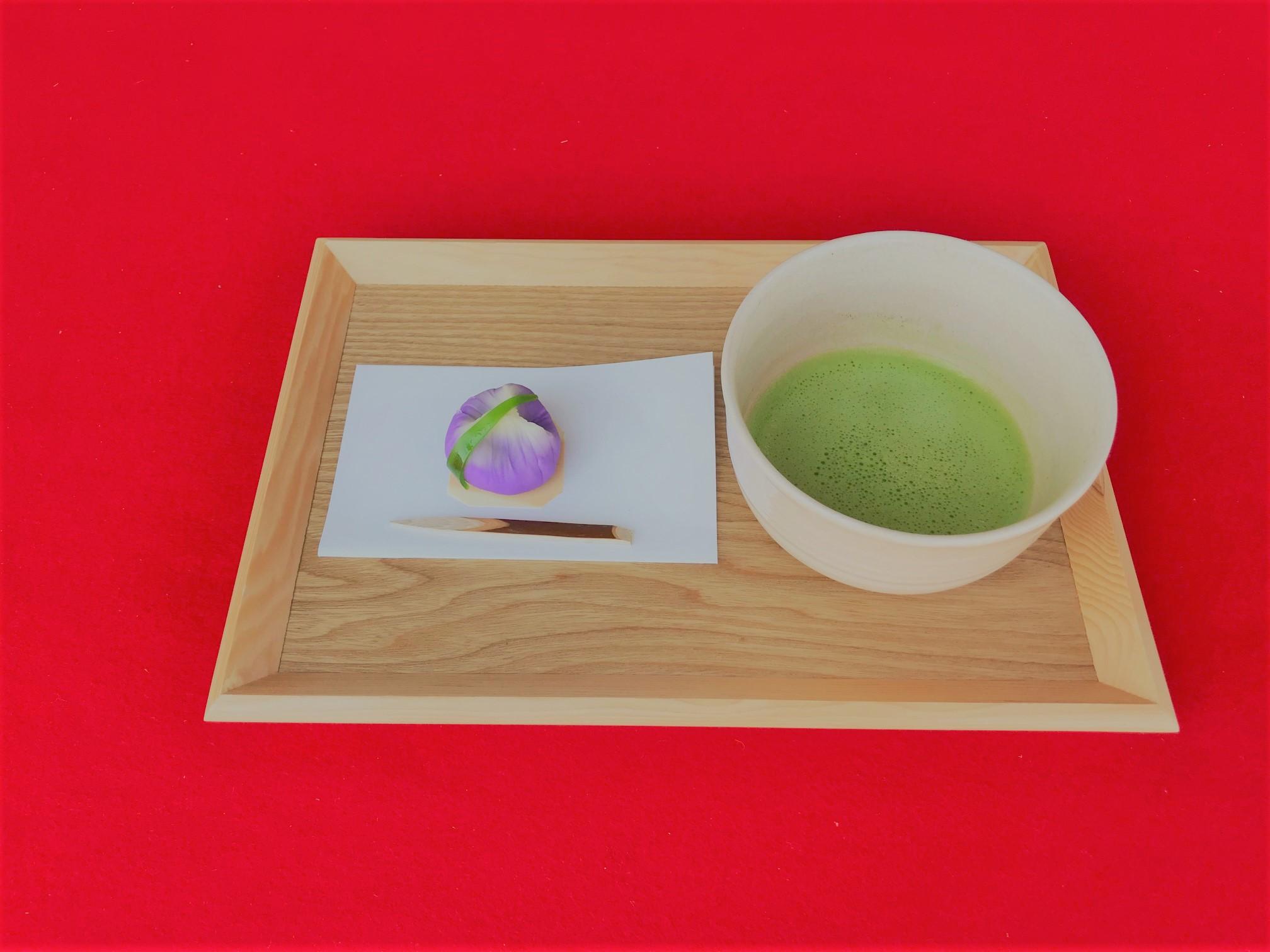 「練り切り和菓子作り&お抹茶体験」WORK SHOP!!