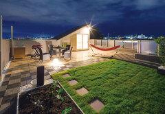 週1回は屋上ガーデンでBBQ 家族のふれあいを形にした家