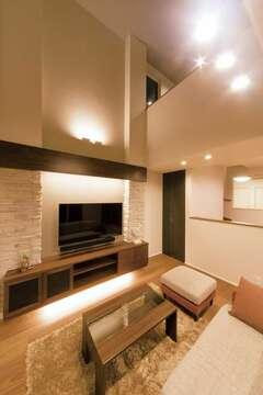 利便性や遊び心まで、リゾート空間に溶け込む家