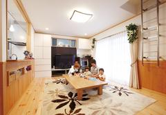 家族の夢をたっぷり収納 笑顔あふれる心地いい家