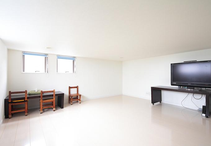 久保田建設【1000万円台、収納力、狭小住宅】ロフトは収納にも、子ども部屋にも、生活スタイルの変化に応じて使える