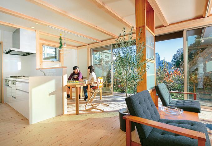 長く住まう家には暮らしを楽しむ北欧の家具が似合う