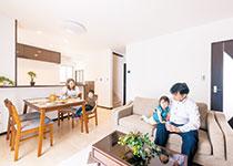 土地+建物4LDKで2,530万円 ママの笑顔が増える高性能住宅