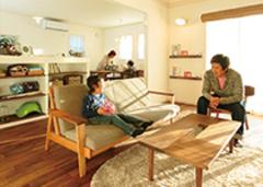 家の雰囲気に合った家具を選び家全体をコーディネート