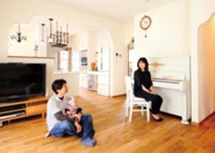 家族の時間をゆったり刻む 南欧テイストのやさしい家