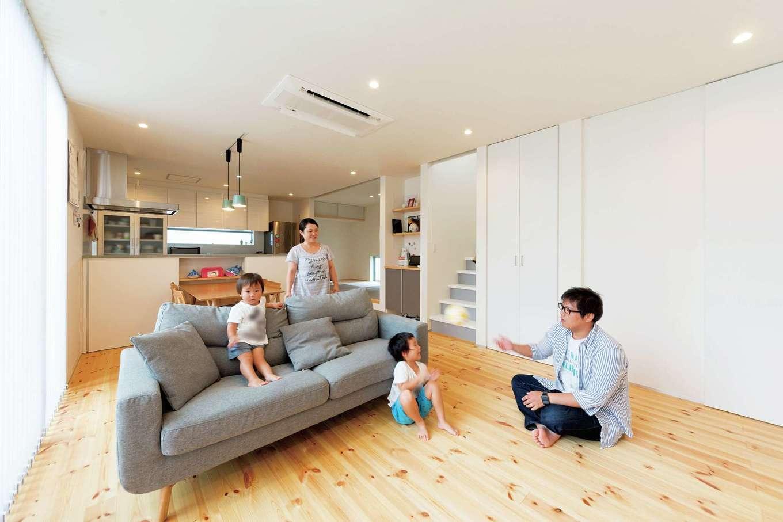 快適性は試泊で実感済み 健康に過ごすWB工法の家