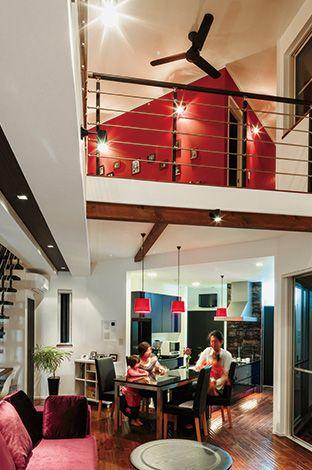 感動の暮らし心地をパーフェクトに叶えたV字型のデザイン住宅