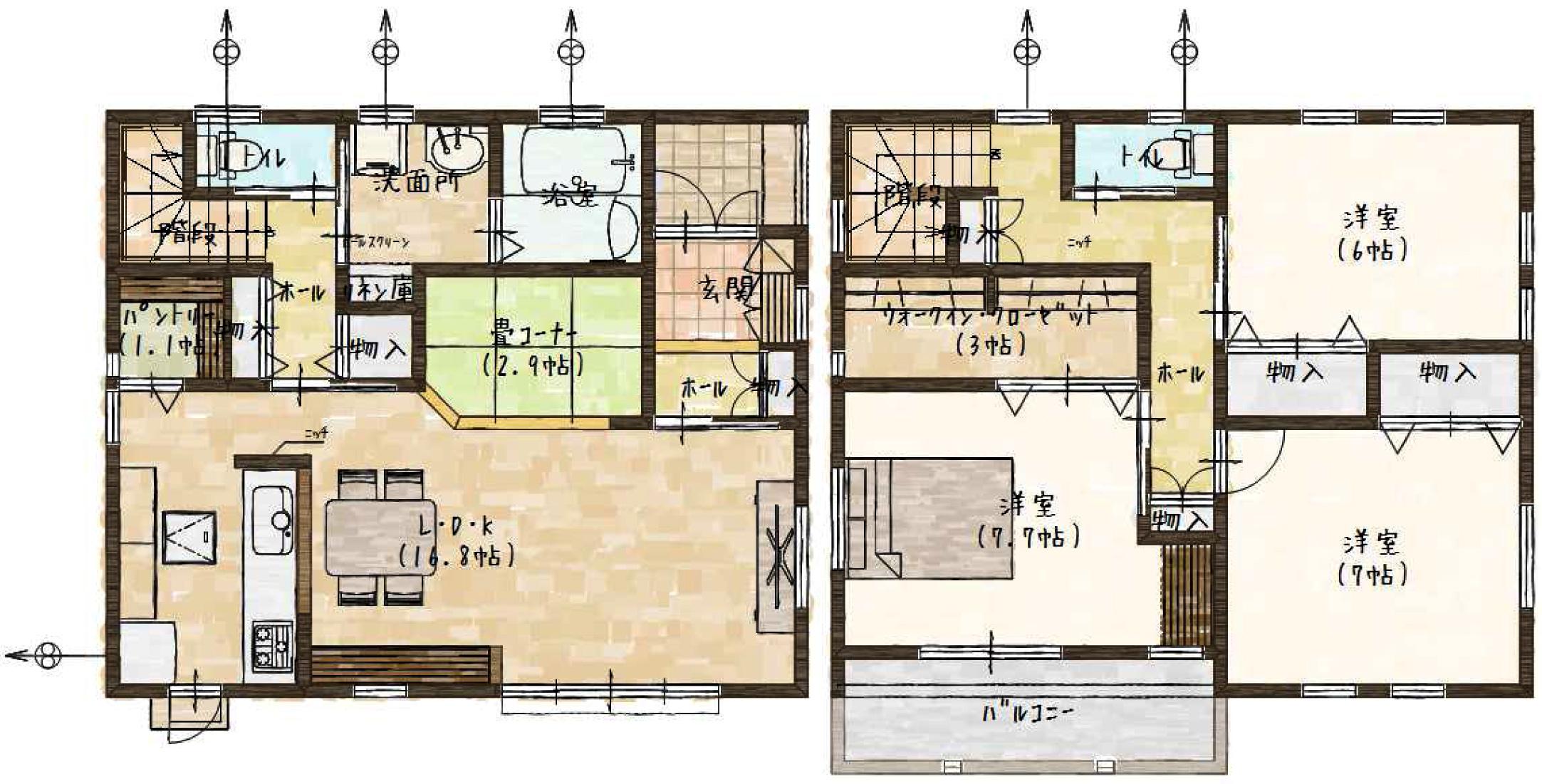 新築住宅 静岡市駿河区登呂2丁目