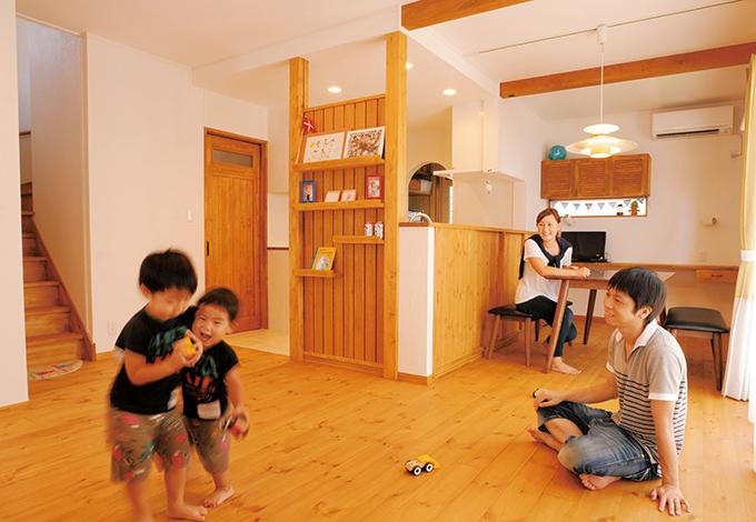 家族にやさしく機能的北欧風シンプルナチュラル