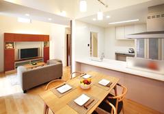 自由自在の快適空間 7層スキップフロアのある家
