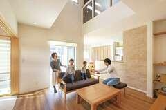 子どもも安心して暮らせるデザイン性のある家