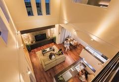 回遊性が高い快適な住空間で子育て中も美しく暮らせる家