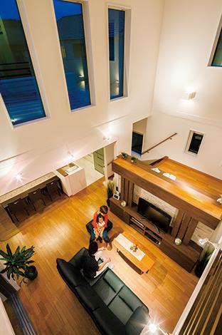 的確なゾーニングから生まれた 開放感とリゾート感が満ちた家