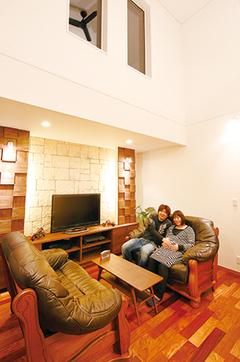 プライバシーを守りながら リゾートライフを楽しむ家