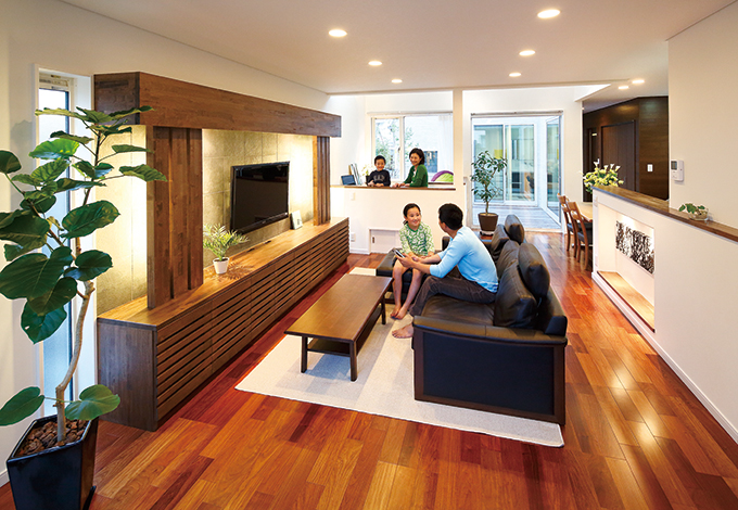 家づくりの常識を超えたセンスフルな高級住宅